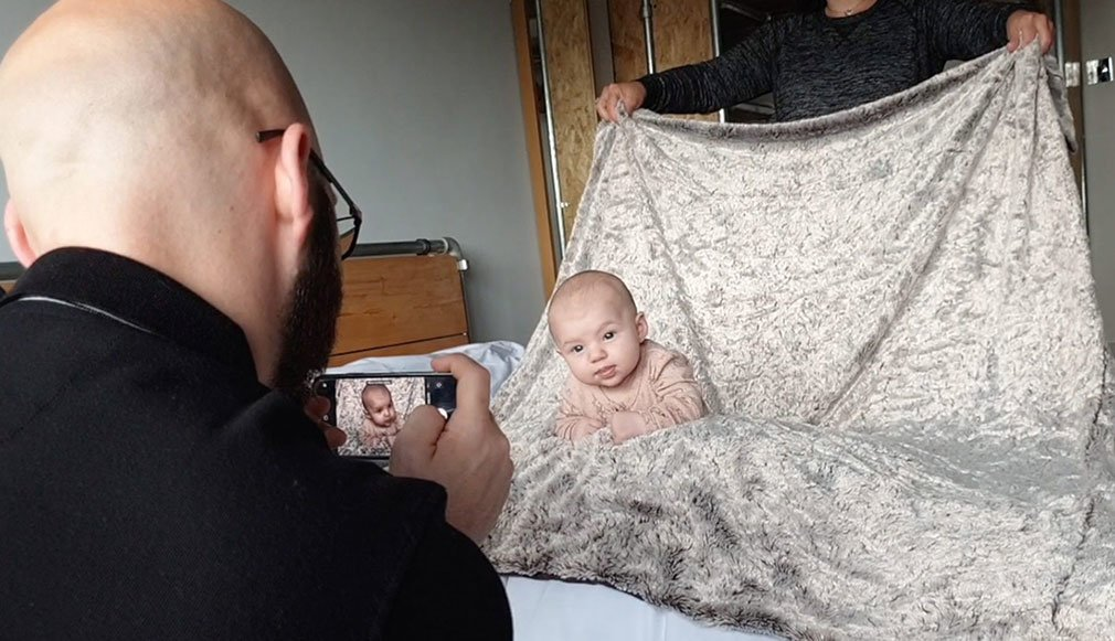Equipment for new born photography