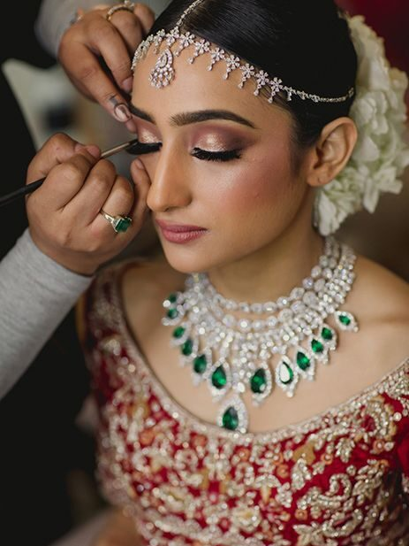 Bridal Photoshoot During Makeup